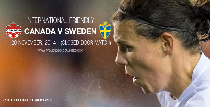 Canada v Sweden – International Friendly (26 November 2014)