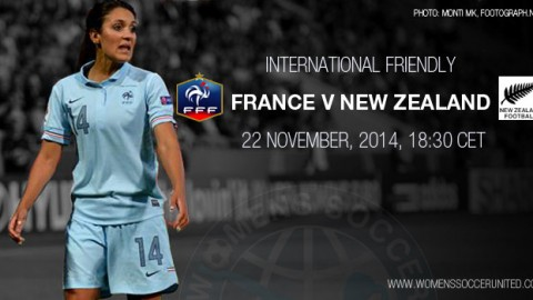 Full-time: France 2-1 New Zealand – International Friendly (22 November 2014)