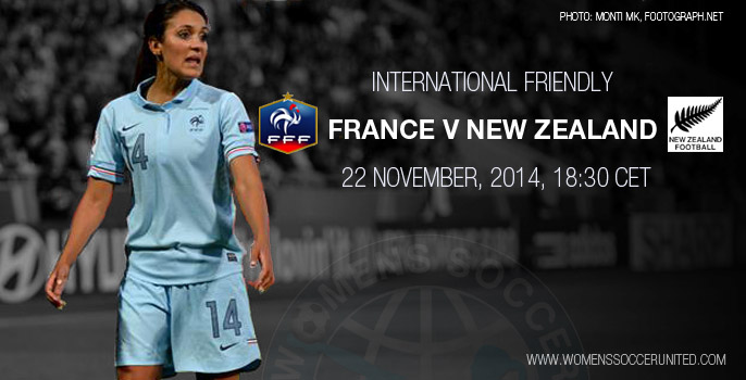 France v New Zealand – International Women's Football Friendly (22 November 2014)