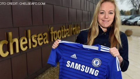 Chelsea Ladies sign Gemma Davison from Liverpool