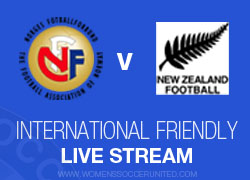 LIVE: Norway v New Zealand – International Friendly (25 November 2014)