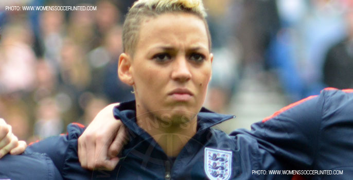 Lianne Sanderson signs for Arsenal Ladies