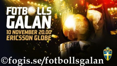 Sweden's Football Gala Awards Winners 2014