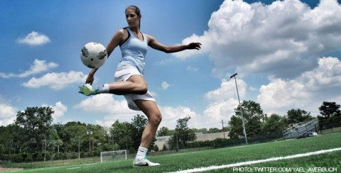 Yael Averbuch joins Arsenal Ladies to compete in IWCC 2014