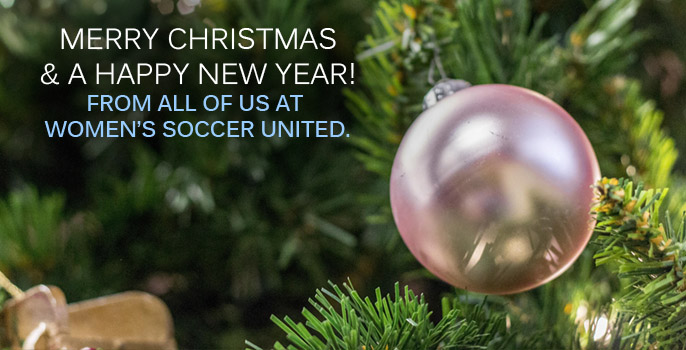 Merry Christmas and a Happy New Year from Women's Soccer United