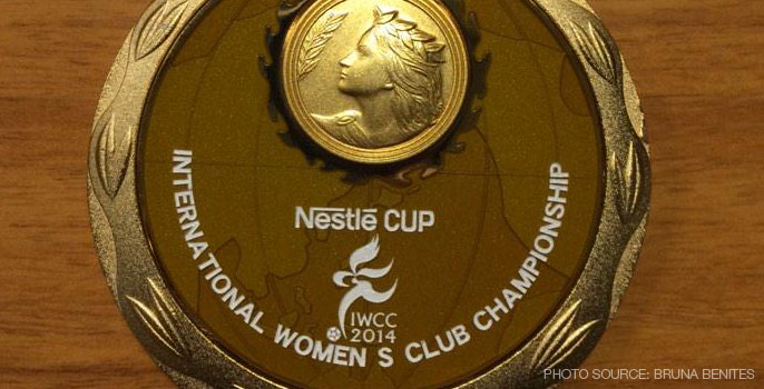 International Women's Club Championship medal
