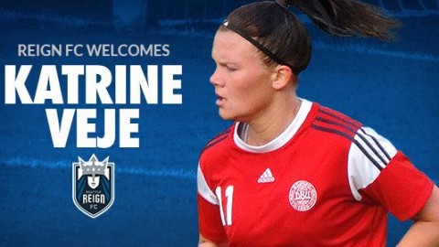 Seattle Reign FC Signs Danish Forward Katine Veje