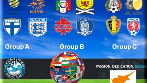 Cyprus Cup 2015 Full Match Fixtures