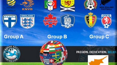 Cyprus Cup 2015 Groups announced for the tournament