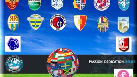 Italy Serie A Femminile League Match Results 10th January 2014