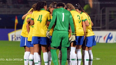Brazil announce squad for the FIFA Women's World Cup 2015