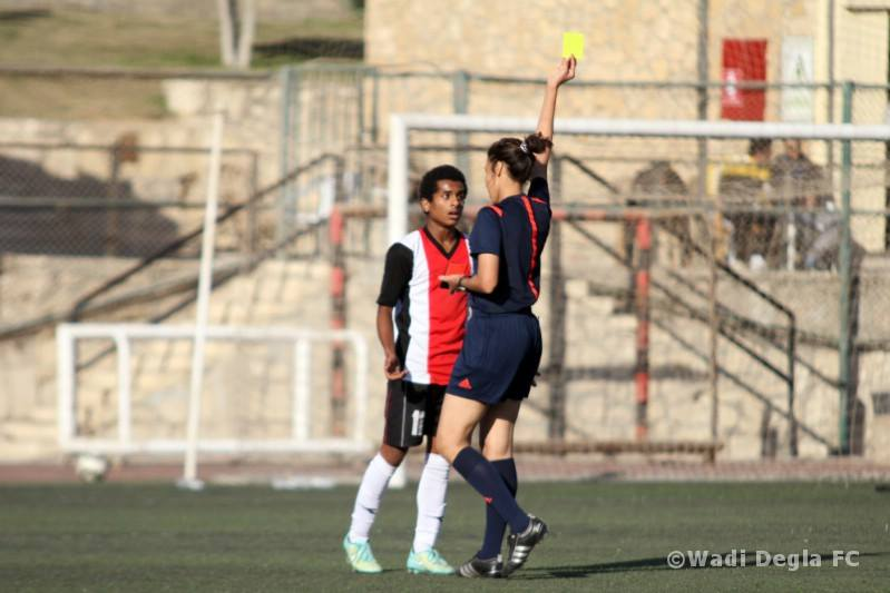 Egyptian Woman Becomes First Female Football Referee