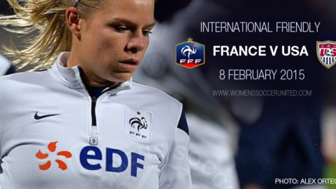 Full-time: France 2-0 USA – International Friendly (8 February 2015)
