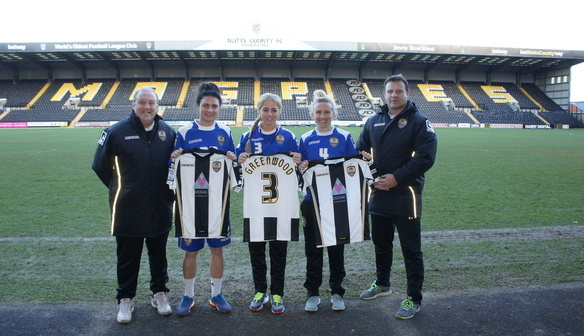 Notts County sign Laura Bassett, Alex Greenwood and Jess Sigsworth