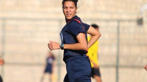 Sarah Samir becomes first female referee to officiate a men's league match in Egypt