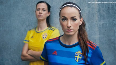 New Swedish Women's National Team jersey revealed