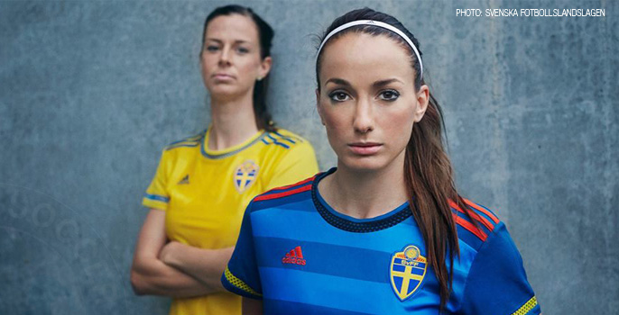 7cab7c01d9d New Swedish Women's National Team jersey revealed