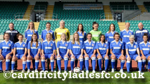 Cardiff City Ladies go top FA Women's Premier League Southern Division