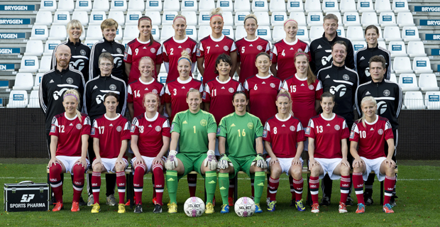 detailed look 282d7 1900f Denmark squad named for Algarve Cup 2015 - Womens Soccer United