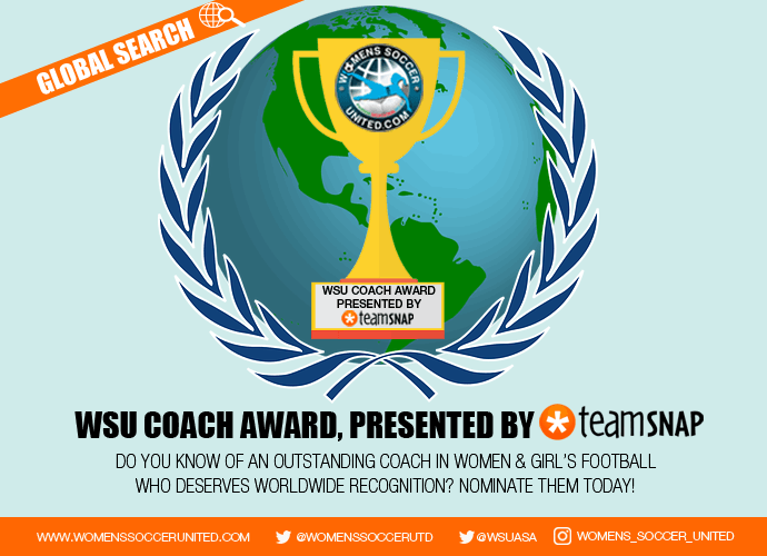 WSU Coach Award Presented by TeamSnap; Nomination period open now!