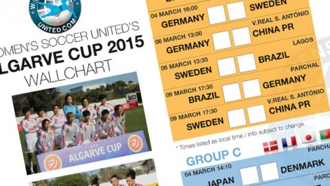 Algarve Cup 2015 Wallchart – Free download