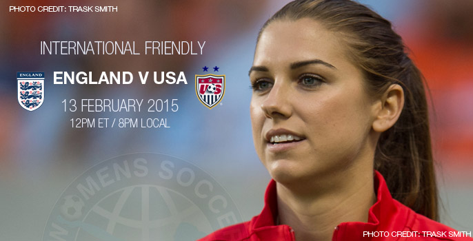 England v USA – International Friendly (13 February 2015)