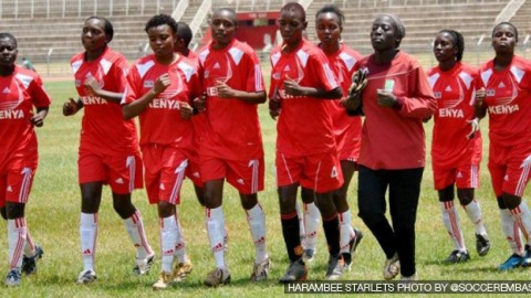 Kenya Harambee Starlets prepare for International Friendly against Egypt