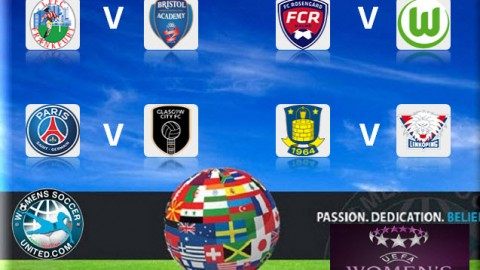 UEFA Women's Champions League 2015 Quarter Final 2nd Leg Matches