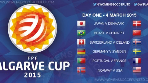Algarve Cup 2015 – Day One, Group stage