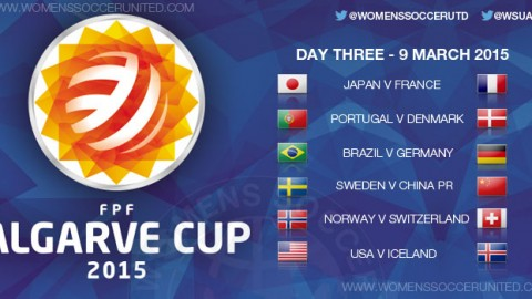 Algarve Cup 2015 – Day Three, Group stage