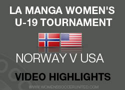 Norway U-19s v USA U-19s match highlights from La Manga