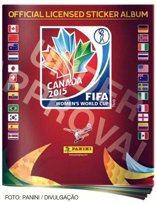 FIFA Women's World Cup 2015 Panini sticker album to be sold in Brazil