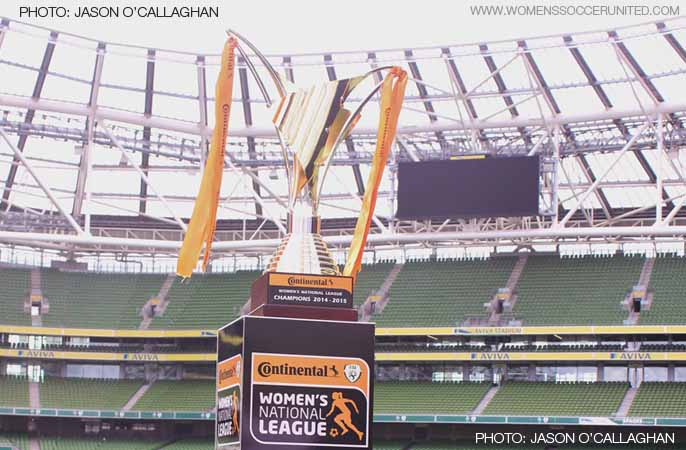 Continental Tyres Women's National League trophy