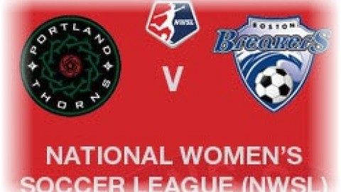 Portland Thorns beat Boston Breakers NWSL 12th April 2015