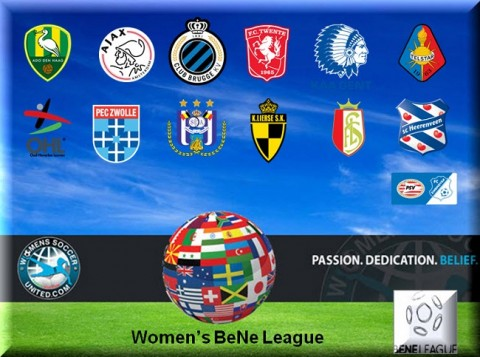 Womens BeNe League Match Results 1st May 2015