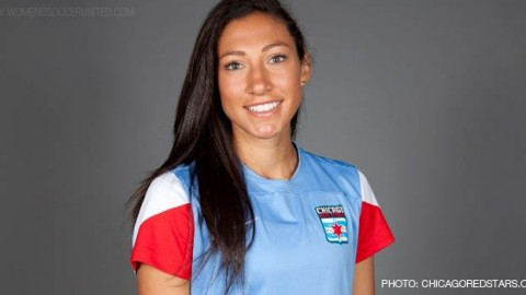 Chicago Red Stars Forward Christen Press Voted NWSL Player of the Month