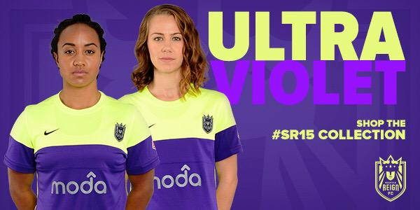 Seattle Reign ultra violet kit - coutesy of Seattle Reign Twitter