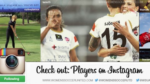 Check out: Players on Instagram – Marta's magazine interview, Lisa Dahlkvist's action shot