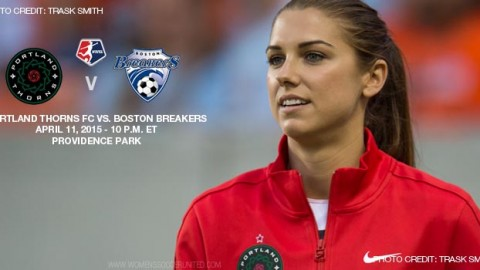 Portland Thorns to host Boston Breakers on 11 April