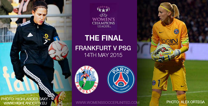 Frankfurt v PSG UEFA Women's Champions League Final 2015