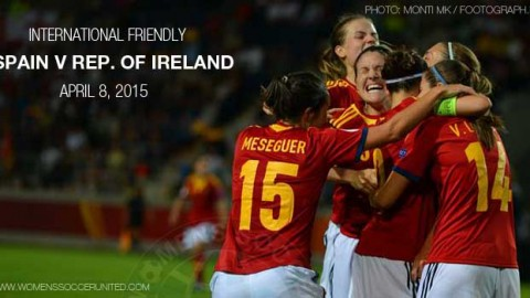 Full-time: Spain 1-0 Republic of Ireland – International Friendly (8 April 2015)