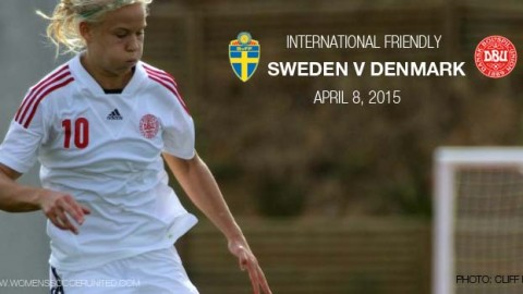 Full-time: Sweden 3-3 Denmark – International Friendly (8 April 2015)