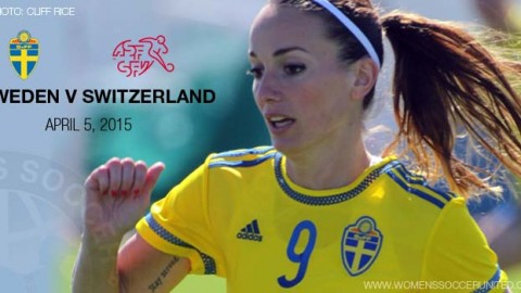 Full-time: Sweden 1-3 Switzerland – International Friendly (5 April 2015)