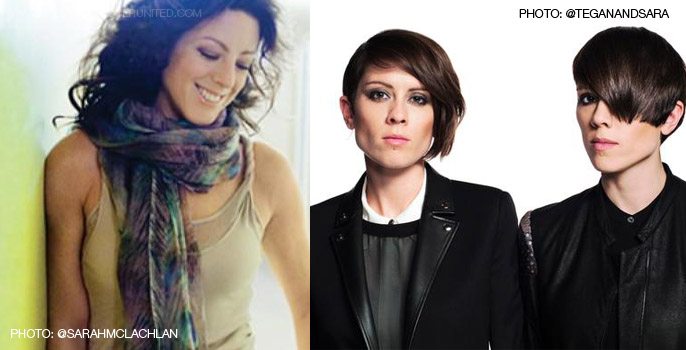 Sarah McLachlan, Tegan and Sara announced as Opening Ceremony artists for FIFA Women's World Cup 2015