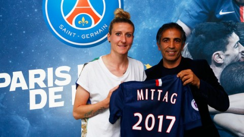 Anja Mittag signs 2-year deal with Paris Saint-Germain