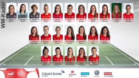 Switzerland name squad for the FIFA Women's World Cup 2015