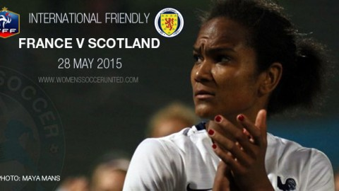 Full-time: France 1-0 Scotland – International Friendly (28 May 2015)