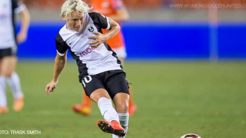 Seattle Reign FC Midfielder Jess Fishlock Voted NWSL Player of the Week