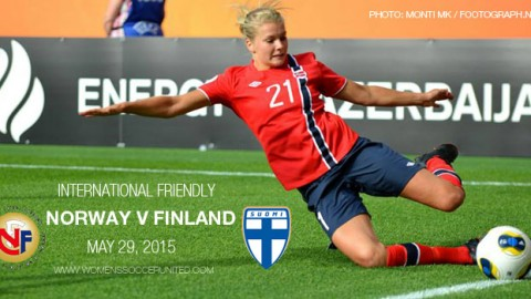 Full-time: Norway 2-0 Finland – International Friendly (29 May 2015)