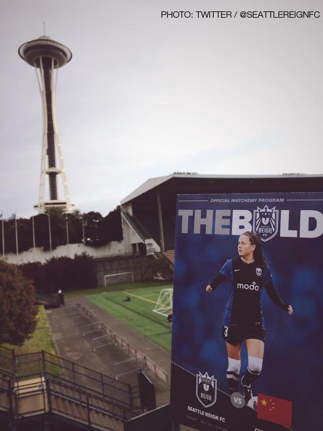 Seattle Reign FC v China PR